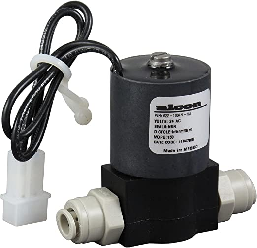 Amazon Com Electronic Shut Off Solenoid Valve With Qc Fittings 24vac 1 4 Qc Home Kitchen
