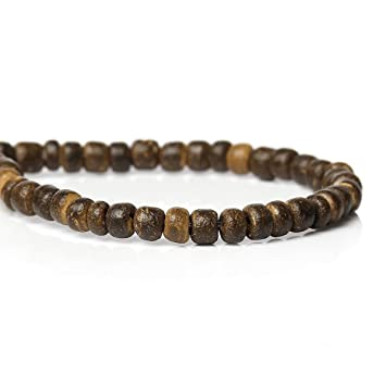 Sadingo Kleine Runde Kokosnuss Perlen 142 Stk 1 Strang