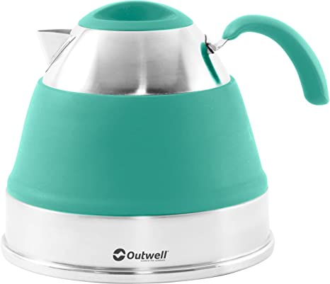 Outwell Collaps 2.5L Kettle Turquoise Blue, One Size