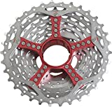 Red Sram Select Pg990 9 Speed 11-34t Cassette