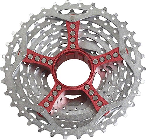 Red Sram Select Pg990 9 Speed 11-34t Cassette by SRAM