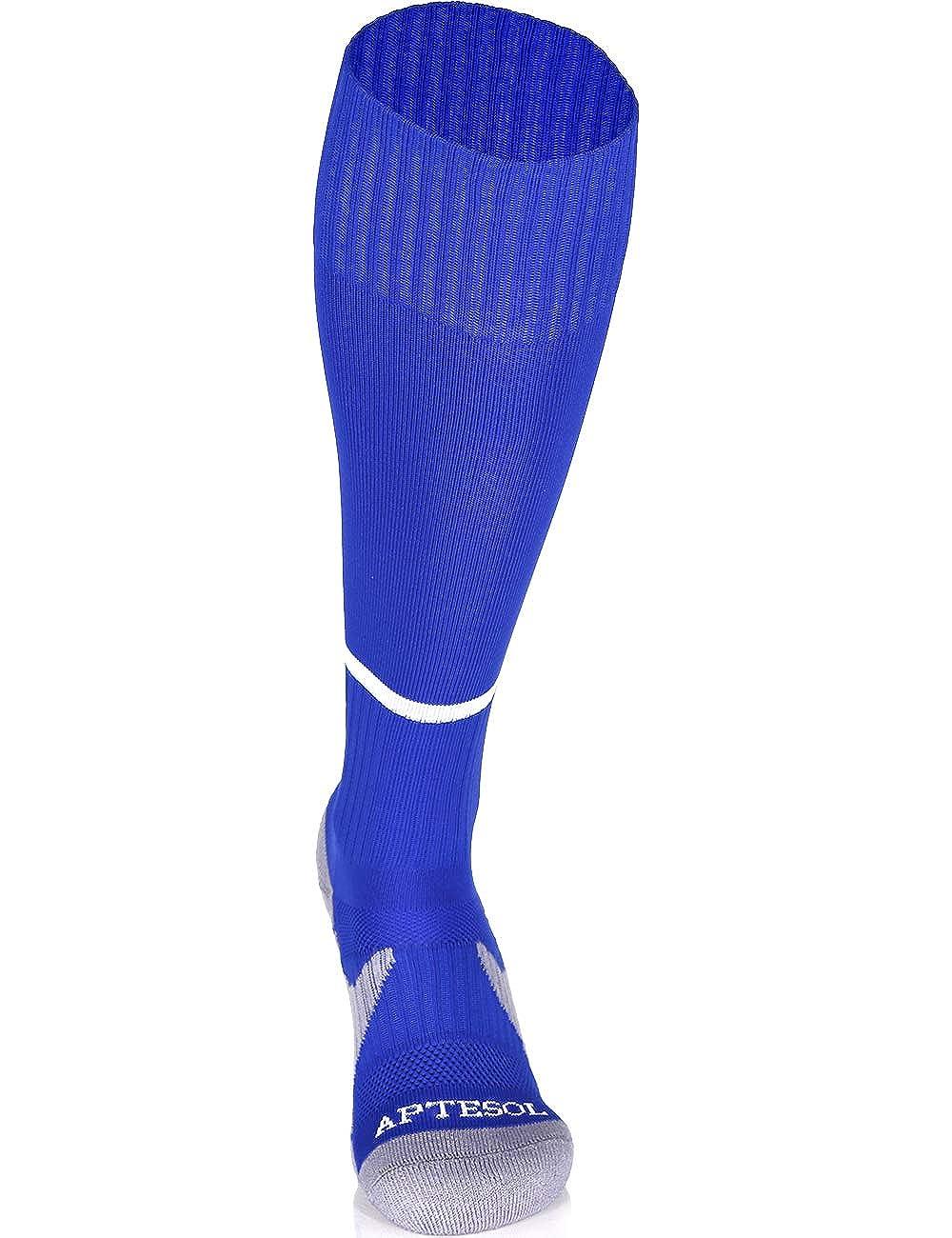 APTESOL Knee High Soccer Socks Compression Kids Adult Youth Team Sport Socks