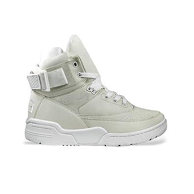 new concept c50c4 f8833 Amazon.com   PATRICK EWING Athletics 33 HI White White Reflective  1BM00146-100   Shoes