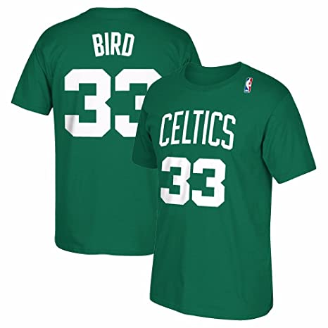51e4c33980c Outerstuff Larry Bird Boston Celtics  33 NBA Youth 8-20 Green Official  Player Name
