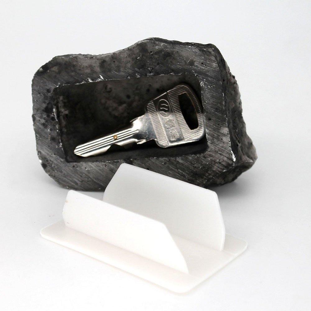 Key Box Rock Nascosto Nascosto In Pietra Sicurezza Archiviazione sicura Nascondere giardino esterno Qualit/à durevole