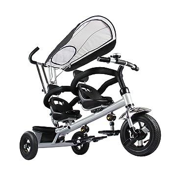 fascol doble Triciclo infantil Trike 3 Ruedas Bicicleta con ...