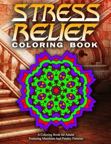 STRESS RELIEF COLORING BOOK Vol.18: Adult Coloring Books Best Sellers For Women (Volume 18)