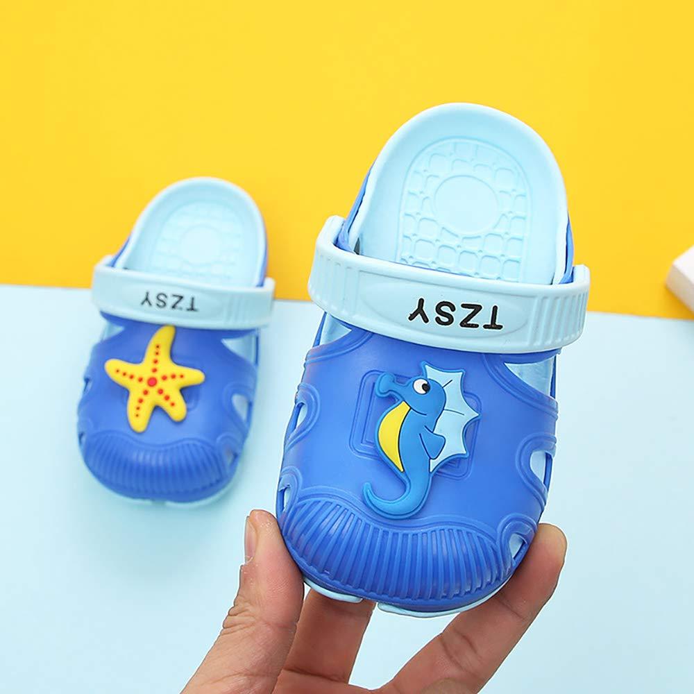 Non-Slip Girls Boys Slide Lightweight Garden Slip-on Shoes Beach Pool Shower Slippers Namektch Toddler Little Kids Clogs Slippers Sandals