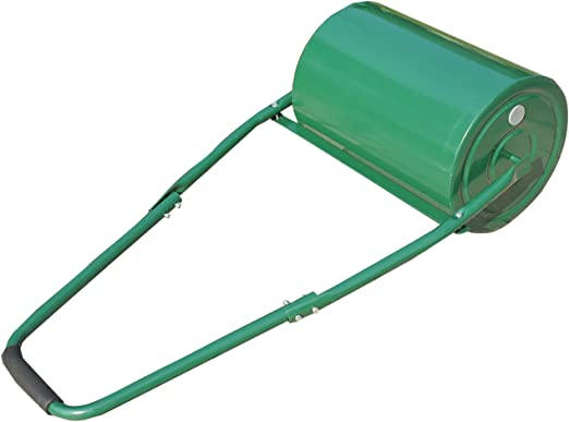 Outsunny - Rodillo de jardín para césped, 30 litros, Resistente, para Rellenar con Agua o Arena, de Acero - Color Verde: Amazon.es: Jardín