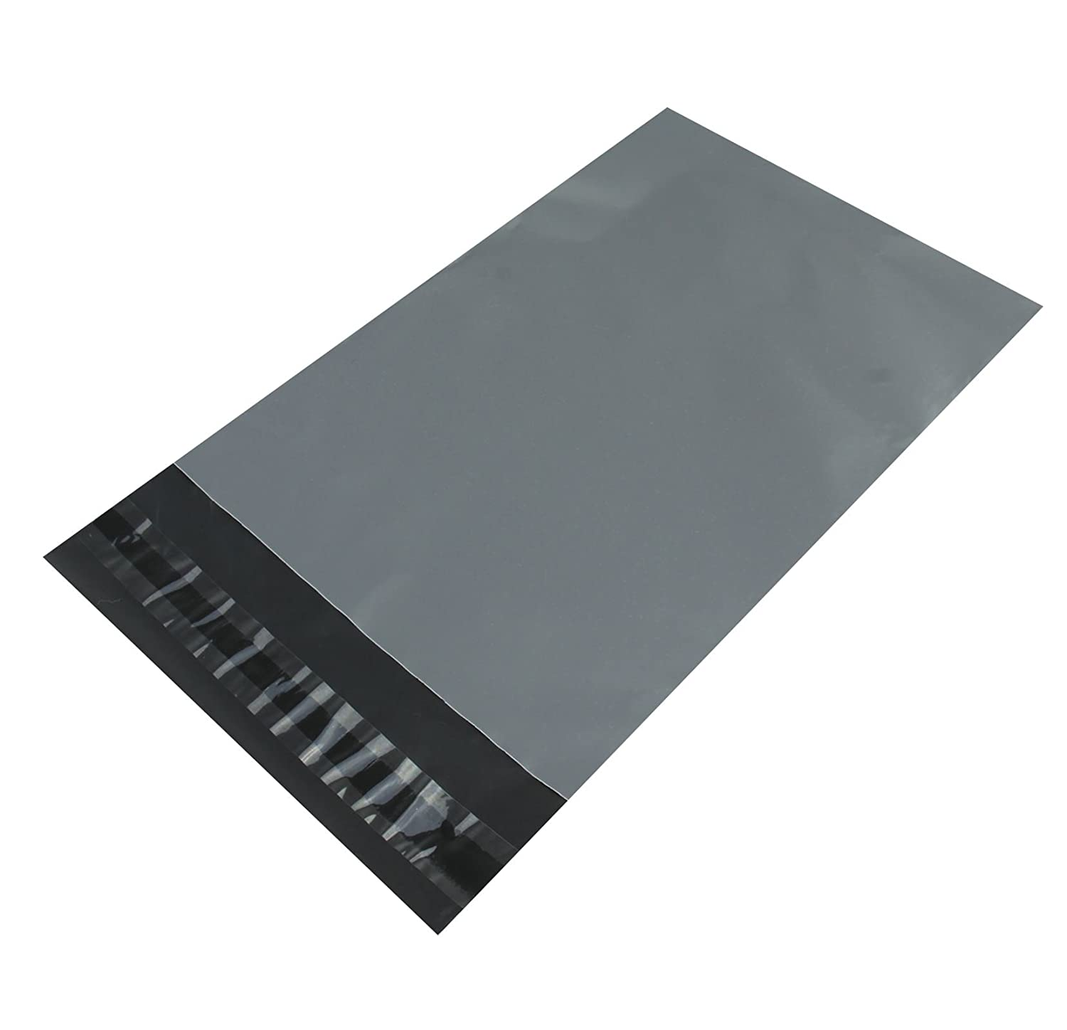 100 Grey Plastic Bags Mailing Postal Strong HIGH QUALITY 50X65cm CLEARANCE SALE