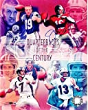 Discounted - Joe Montana Signed - Autographed San Francisco 49ers 8x10 inch Photo - QB's of the Century - Smudged - Guaranteed to pass PSA or JSA