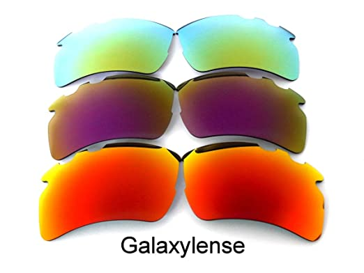 2458a70f58c Galaxylense Men s Replacement Lens For Oakley Flak 2.0 XL Vented Sunglasses  Red Purple Gold