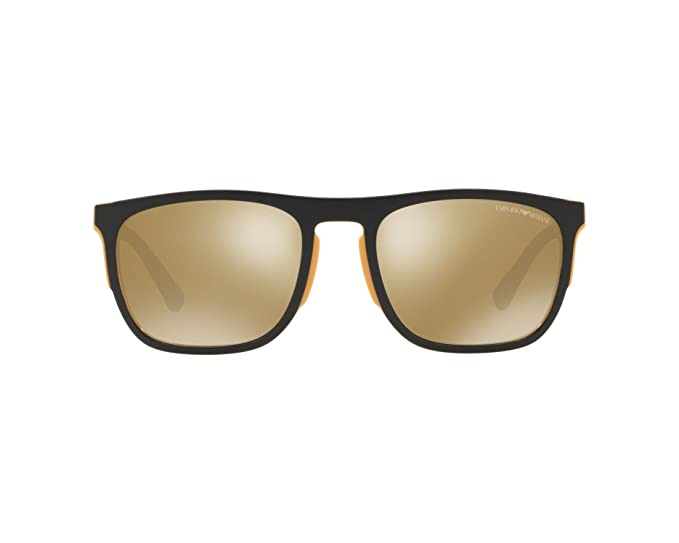 Emporio Armani 0EA4114, Gafas de Sol para Hombre, Matte ...