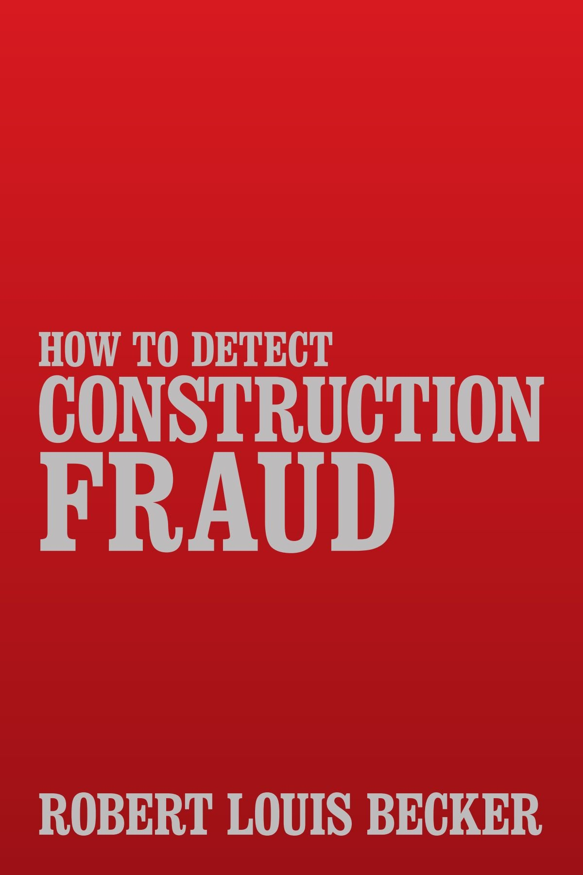 How to Detect Construction Fraud PDF