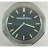 Audemars Piguet Luminous Silent Sweep Wall Clock, Silver+Black