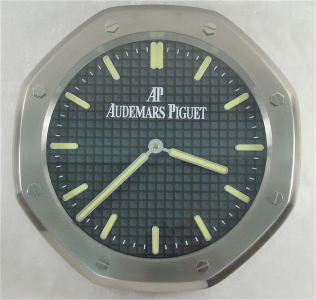 Amazon Audemars Piguet Luminous Silent Sweep Wall Clock Silver