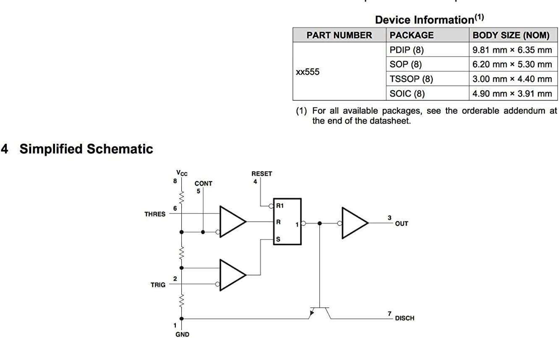 avec Prises NE555N NE555 DIP8 Bipolaire Simple ZHITING NE555P Paquet de 10 / Minuterie de pr/écision Simple