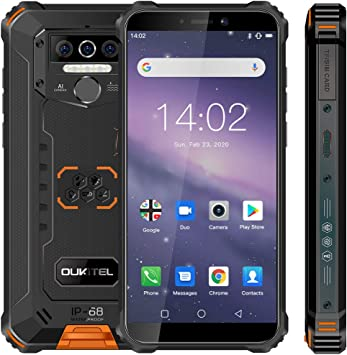 Móvil Resistente,OUKITEL WP5 Telefono Movil Antigolpes Batería ...