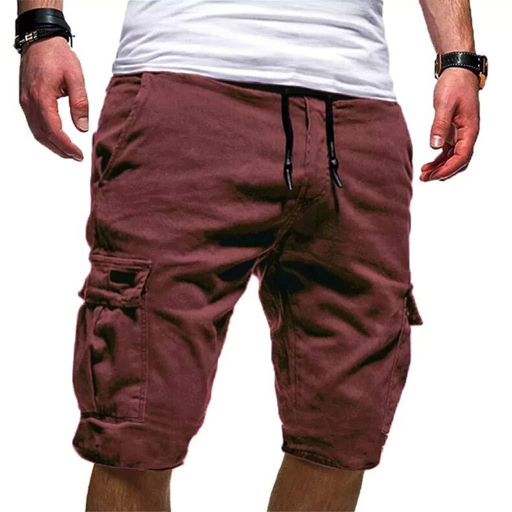Moonuy - Pantalones de Deporte para Hombre, de algodón Suave, para ...