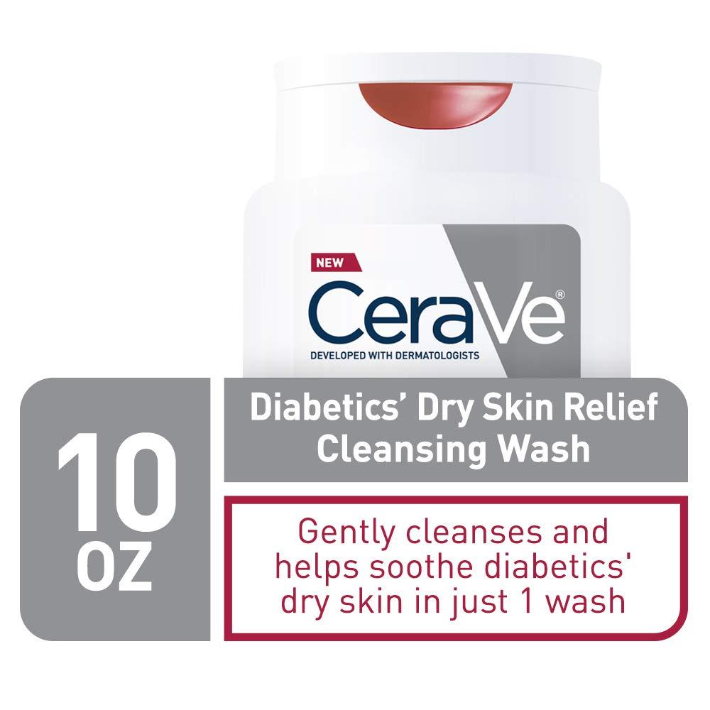 Amazon Com Cerave Body Wash For Diabetics Dry Skin 10 Ounce