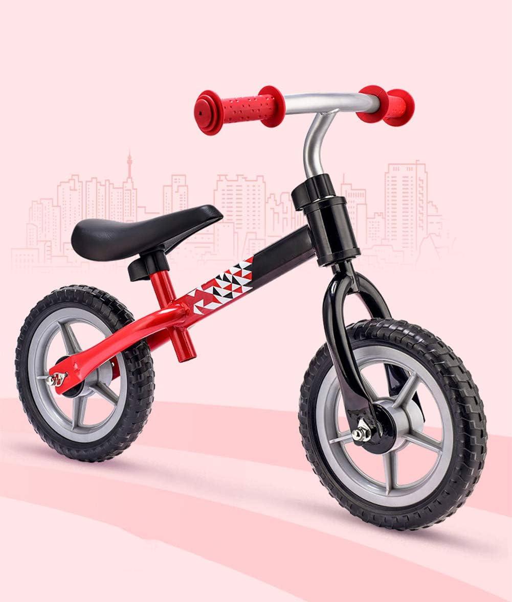 YJF Bicicleta de Equilibrio para niños Bicicleta de Entrenamiento ...