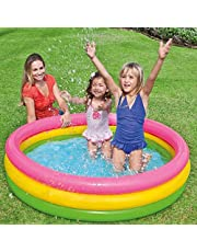 Intex Sunset Glow Baby Pool Outdoor Toy and Structures [Multicolor, 57422]