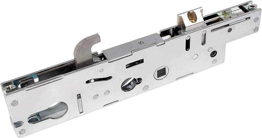 Fullex - Cerrojo para puertas (PVC rígido, mecanismo central, barra segmentada de 35 mm, distancia de cerradura a barra de 35 mm y de cerradura a tirador de 92 mm): Amazon.es: Bricolaje y herramientas