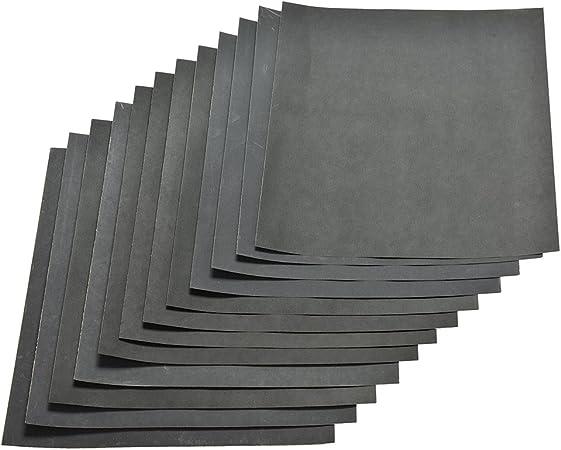 Cymax 42 Pi/èces Papier de Verre Sec//Humide Papier /à Poncer 120 /à 3000 Grains de Papier Abrasif pour le pon/çage automobile la finition de meubles en bois et le tournage de bois