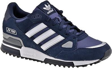 Chapoteo canto recurso  adidas Originals – Zapatillas de running para hombre ZX 750 Retro de  Casual, color Azul, talla: Amazon.es: Zapatos y complementos