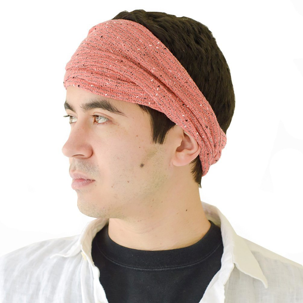 Casualbox Mens Womens Headband Hair Band Unique JAPAN Fashion Style Beige
