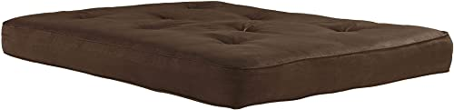 DHP 6-inch Coil Futon Full Size Mattress only , Brown
