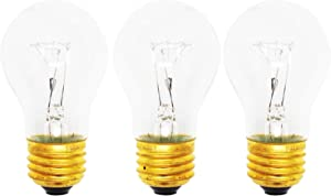 3-Pack Replacement Light Bulb for Samsung RGSF5330DT - Compatible Samsung 8009 Light Bulb