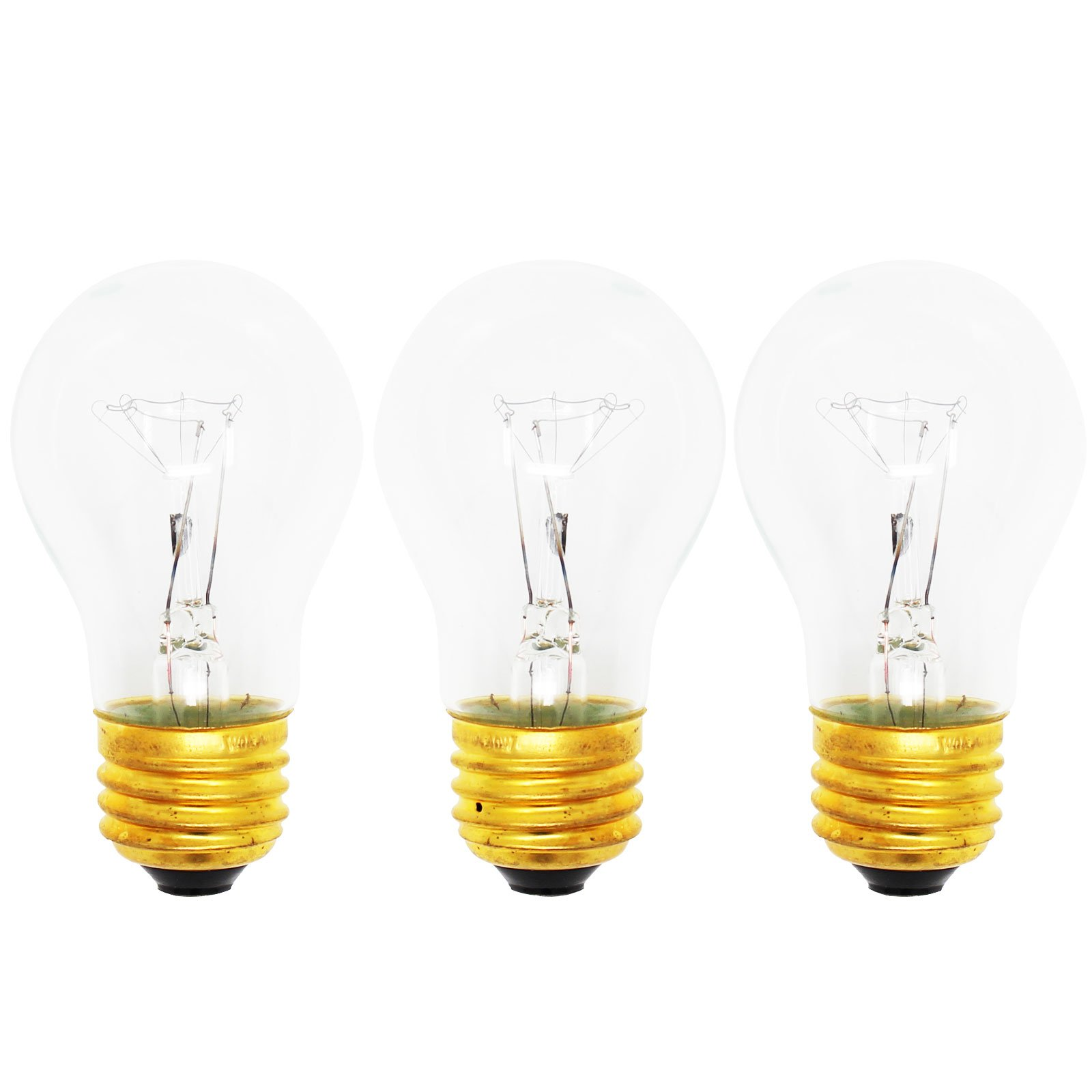 3-Pack Replacement Light Bulb for Amana AOGD2750SS - Compatible Amana 8009 Light Bulb
