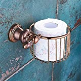 LAONA Rose Gold European towel rack kit full brass body toilet Bathroom Wall is packaged in tissue paper basket
