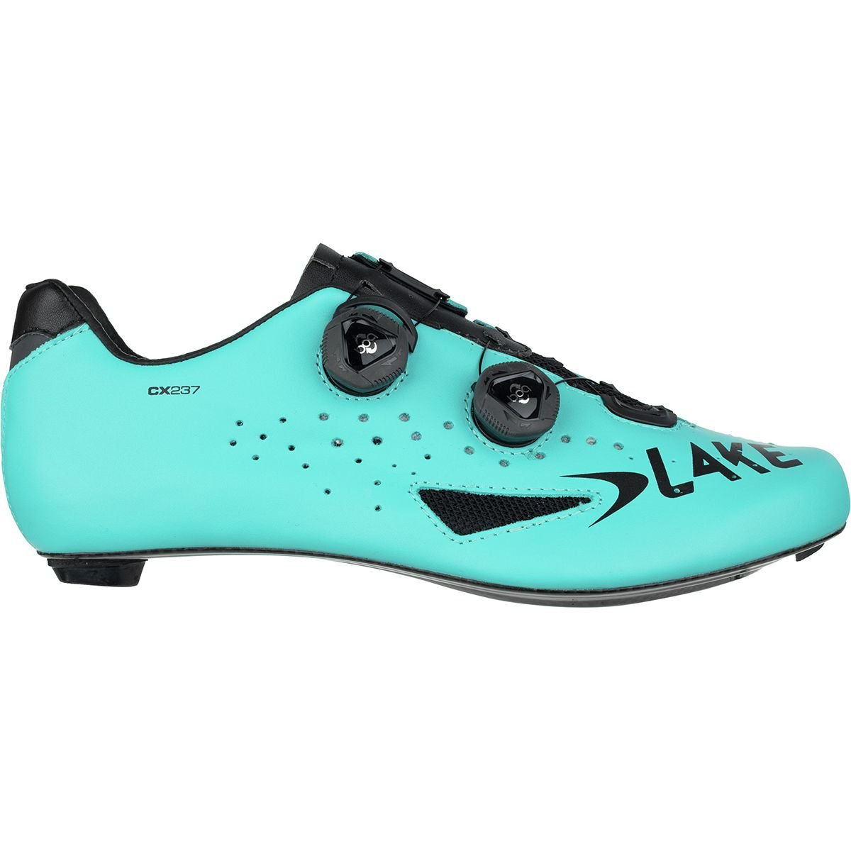 Lake CX237 Road Shoes - Men's Blue/Black, 43.0