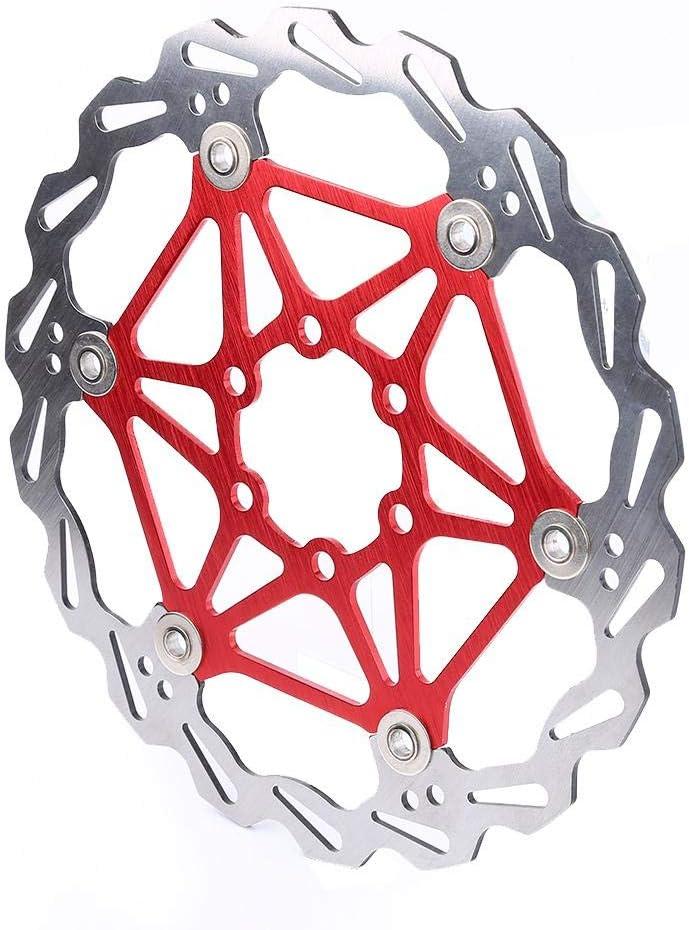 Keenso 160//180//203mm Mountain Bike Type Floating Brake Disc, Bicycle Brake Pad Cycling Accessory