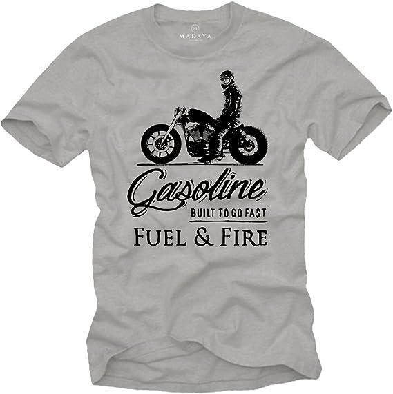 t-shirt homme moto