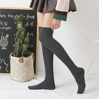 Calcetines, Calcetines por Encima de la Rodilla, Modelos universitarios para Mujeres, Calcetines de