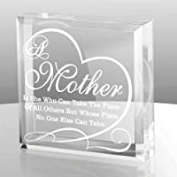 KATE POSH A Mother is she who can take The Place of All Others but Whose Place no one Else can take - Engraved Keepsake…
