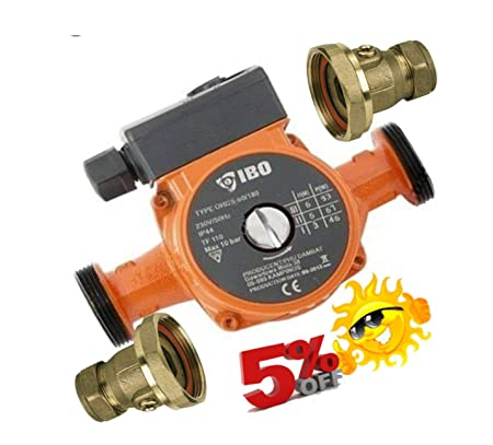 Central Heating Circulator Pump for HOT Water Heating System VALVES ...