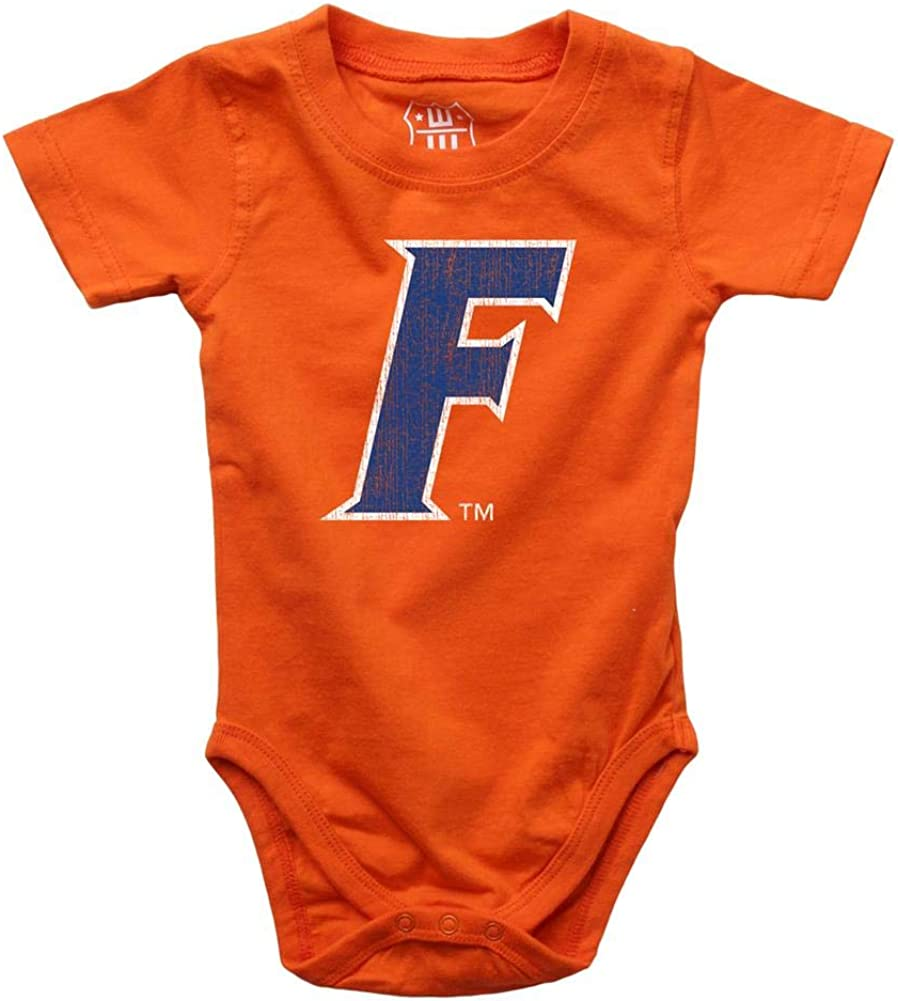 18 M Wes and Willy Infant University of Florida Gators Bodysuits 3 Pack Organic Cotton Set