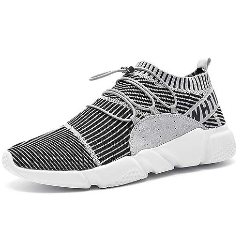 Zapatillas Deportivas cómodas para Hombres Zapatillas de Deporte Respirables para Hombres: Amazon.es: Zapatos y complementos