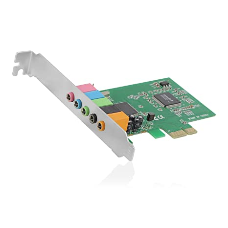 Ewent EW3760 Interno 5.1channels PCI-E Tarjeta de Audio ...