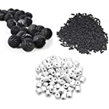 Colourful Aquarium Fish Tank 500G Activated Carbon + 500G Ceramic Rings + 22 Bio Balls