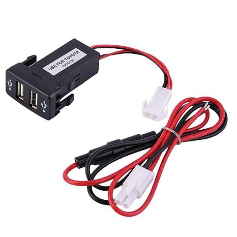 Peanutaso Cargador de Puerto USB para Coche Adaptador de ...