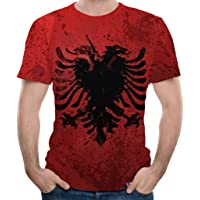 VonVonCo Pullover Sweaters for Mens, Fashion Mens Splash-Ink 3D Printing Tees Shirt Short Sleeve T-Shirt Blouse Tops M-XXXL