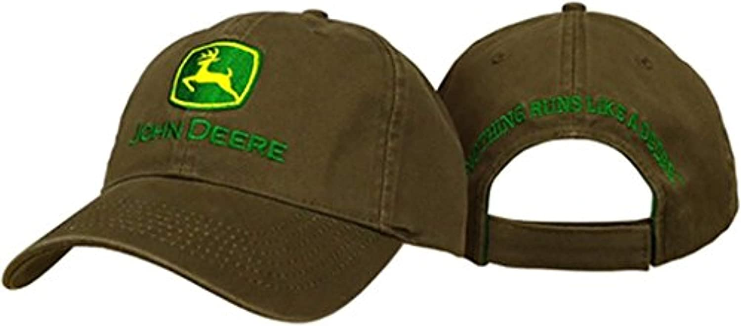 John Deere Embroidered Logo...