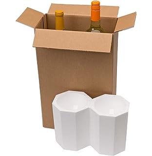 Amazon.com: Caja de envío de vino.: Kitchen & Dining