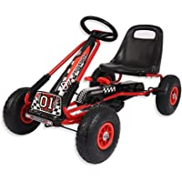 Motor Racing Style Kids Childrens Pedal Go Kart