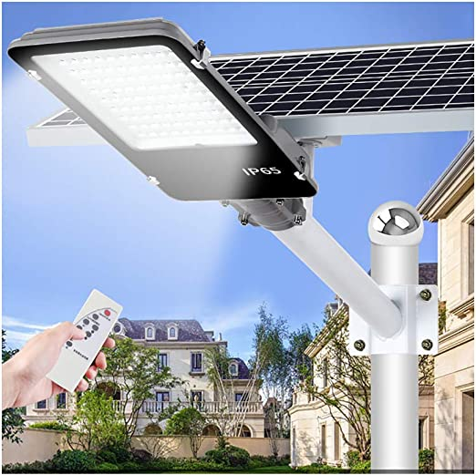 Rmckj-M Ultra Potente Farolas Solares Exterior,Impermeable IP65 LED Luz Solar 100W-500W con Soporte Ajustable Y Control Remoto Solar Security Lights para Calle,Patio,jardín Etc,500W: Amazon.es: Hogar